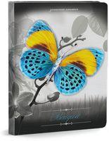 """Записная книжка """"Бабочка на цветах"""" (А6; 80 листов)"""