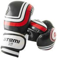 Перчатки боксёрские LTB-16111 (S/M; чёрные; 10 унций)