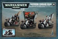 Warhammer 40.000. Dark Angels. Ravenwing Command Squad (44-11)