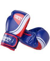 """Перчатки боксёрские """"Knockout BGK-2266"""" (8 унций; синие)"""