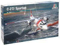 """Сборная модель """"Военно-транспортный самолет C-27J Spartan"""" (масштаб: 1/72)"""