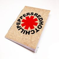 "Блокнот крафт ""Red Hot Chili Peppers"" А7 (035)"