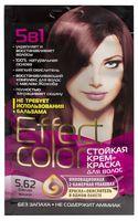 """Крем-краска для волос """"Effect Сolor"""" (тон: 5.62, спелая вишня)"""