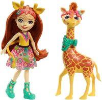 """Кукла """"Enchantimals. Джилиан Жираф и Пол"""""""