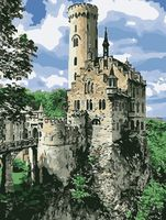 """Картина по номерам """"Замок на горе"""" (400х500 мм)"""
