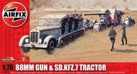 """Набор техники """"88mm Gun & Sd.Kfz.7 Tractor"""" (масштаб: 1/76)"""