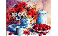 "Картина по номерам ""Натюрморт с цветами"""