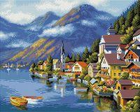 "Алмазная вышивка-мозаика ""Хальштадт. Австрия"""