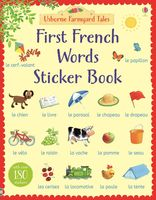 First French Words. Sticker Book