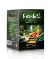 """Чай зеленый """"Greenfield. Exotic Asai"""" (20 пакетиков)"""