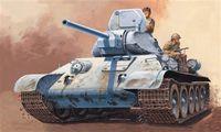 """Средний танк """"T 34/76"""" (масштаб: 1/72)"""