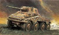"Бронеавтомобиль ""Sd.Kfz. 234/2 Puma"" (масштаб: 1/72)"