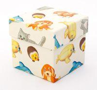 """Подарочная коробка """"Plush Pets"""" (7,5х7,5х7,5 см)"""