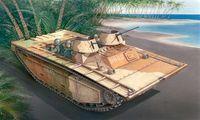 """Гусеничная десантная машина """"LVT-(A)2 Saipan"""" (масштаб: 1/35)"""