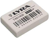 "Ластик ""LYRA Eraser"" белый (38х25х8 мм)"