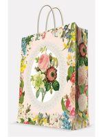 "Пакет бумажный подарочный ""Весенний сад"" (11х13,7х6,2 см; арт. 39639)"