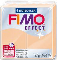 """Глина полимерная """"FIMO Effect"""" (персиковый; 57 г)"""