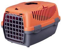 "Переноска для животных ""Traveller Capri I"" (32х31х48 см; серо-оранжевая)"