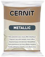 """Глина полимерная """"CERNIT Metallic"""" (античная бронза; 56 г)"""