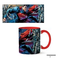 """Кружка """"Супермэн из вселенной DC"""" (408, красная)"""
