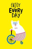 Enjoy every day (yellow)