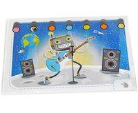 """Набор для изготовления электронной открытки """"Космический гитарист"""""""