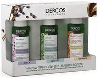 """Подарочный набор """"Dercos Nutrients"""" (3 шампуня)"""