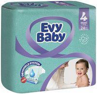 """Подгузники """"Evy Baby Maxi 4"""" (7-18 кг; 24 шт.)"""