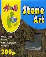 Масса для лепки, имитирующая камень (мел, кварцевый песок, акрил)