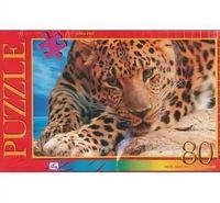 """Пазл """"В мире животных. Красивый леопард"""" (80 элементов)"""