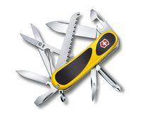 "Нож перочинный Victorinox ""EvoGrip 18"" желтый (15 функций)"