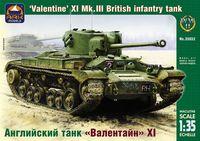 "Английский танк ""Валентайн"" XI (масштаб: 1/35)"
