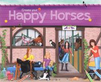 "Альбом с наклейками ""Creative Studio. Create your Happy Horses"""