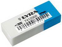 "Ластик ""LYRA Eraser"" сине-белый (50х19х12 мм)"