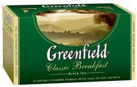 "Чай черный ""Greenfield. Classic Breakfast"" (25 пакетиков)"