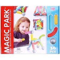 """Конструктор магнитный """"Magic Park"""" (36 деталей; арт. DV-T-601)"""