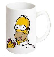 """Кружка """"Гомер Симпсон с пончиком"""""""