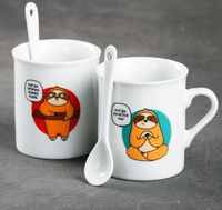 """Набор кружек """"Чай или кофе"""""""