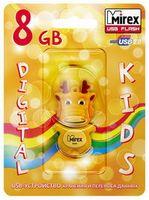 USB FlashDrive 8Gb Mirex Dragon Yellow