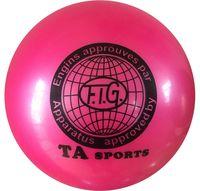 Мяч для художественной гимнастики RGB-101 (15 см; розовый)