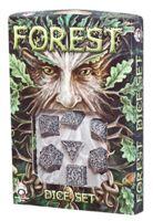 """Набор кубиков """"Forest"""" (7 шт.; бело-черный)"""