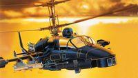 """Ударный вертолет """"Kamov KA-52 Alligator"""" (масштаб: 1/72)"""