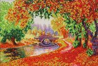 """Вышивка бисером """"Осень"""" (арт. 61011)"""