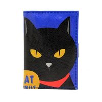 """Кредитница """"Cat Family"""" (20 карточек; синяя)"""
