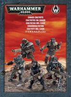 Warhammer 40.000. Chaos Space Marines. Cultists (35-34)