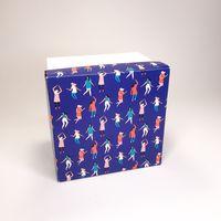 "Подарочная коробка ""Танцы"" (13х13x10 см)"
