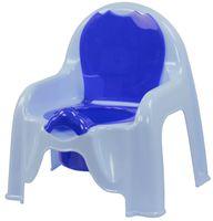 Горшок пластмассовый детский (голубой; арт. М1326)