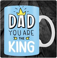 """Кружка """"Dad you are the King"""" (арт. 4)"""