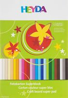 "Набор картона цветного ""Heyda "" (240х340 мм; 25 цветов)"