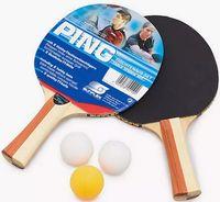 Набор для настольного тенниса Ping (2 ракетки+3 мяча; арт. 20110)